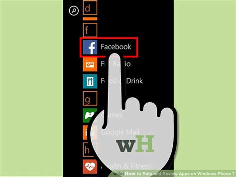 how to rate and review apps on windows phone 7 6 steps