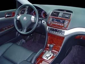 Acura Tsx Base Interior Burl Wood Dash Trim Kit Set 2004