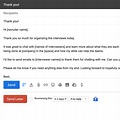 How to write good follow up emails after the interview ...