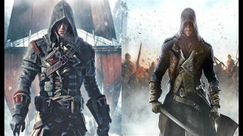 creed rogue assassin unity vs hd