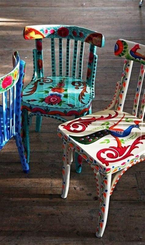 Alte Stühle Verschönern by Die Besten 25 Alte St 252 Hle Streichen Ideen Auf