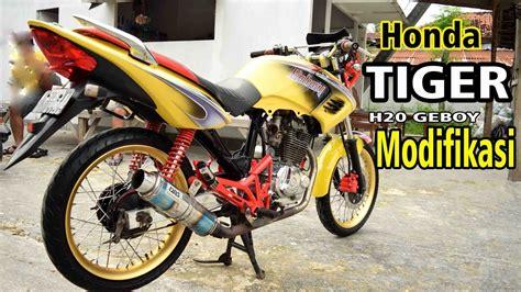 Tiger Modifikasi Drag by Kumpulan Modif Honda Tiger Elegan Terkeren Botol Modifikasi