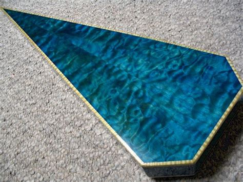 blue wood dye diy blueprint plans  serpentine