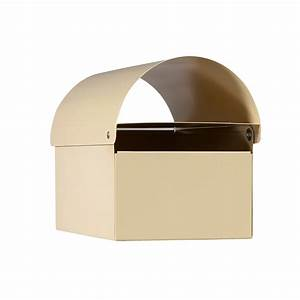 sandleford cream dune post mounted letterbox bunnings With letter mailbox