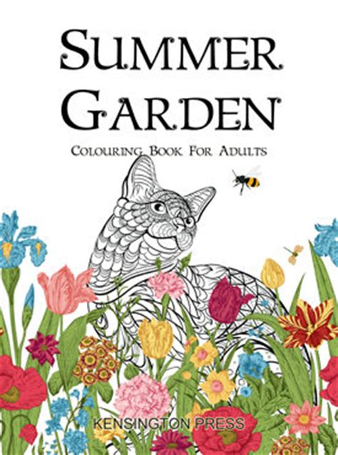 Summer Garden Colouring Book For Adults