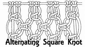 Square Knot Diagram