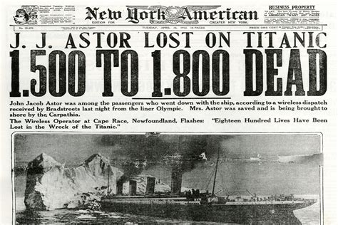 Oceanos Sinking Toll by Sinking Of The Titanic Influences Wireless Radio