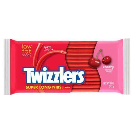 Twizzler Super Long Nibs Cherry Licorice, 11 oz   Walmart.com