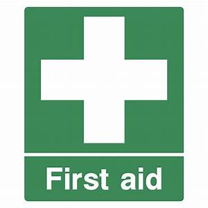 Emergency first aid point - Safety Sign - Nationwide postage
