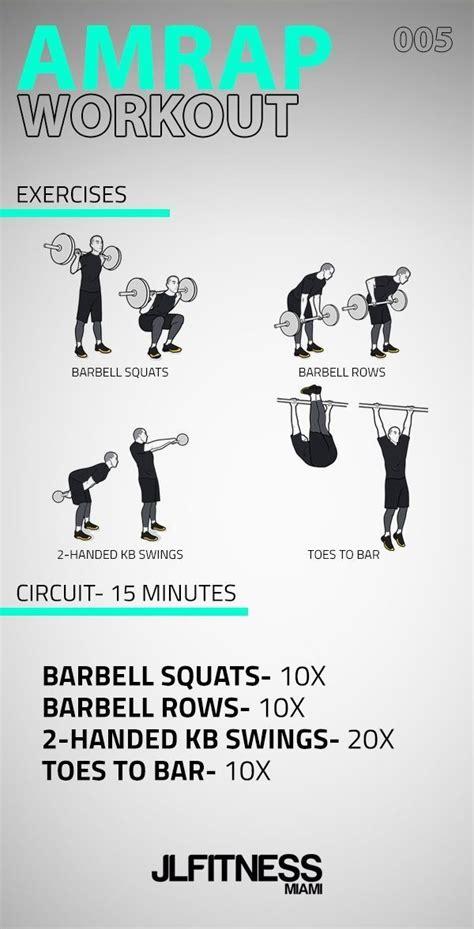 kettlebell amrap workout