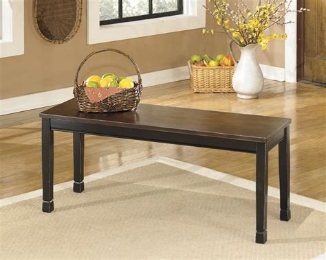 Ashley Owingsville Large Dining Room Bench Ashley-d