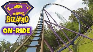 Bizarro On-ride Front Seat (HD POV) Six Flags Great ...