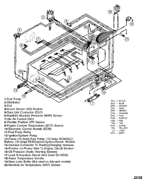 Crusader Fuel Wiring Diagram by Mercruiser Thunderbolt V Ignition Wiring Diagram