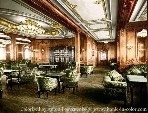 the color lounge 187 rip titanic 1912 1912