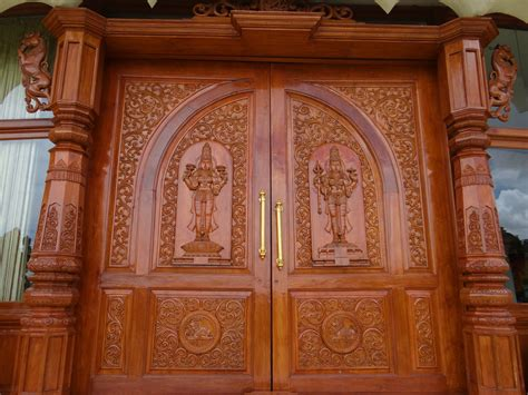 carved doors bangalore wood carving  bangalore