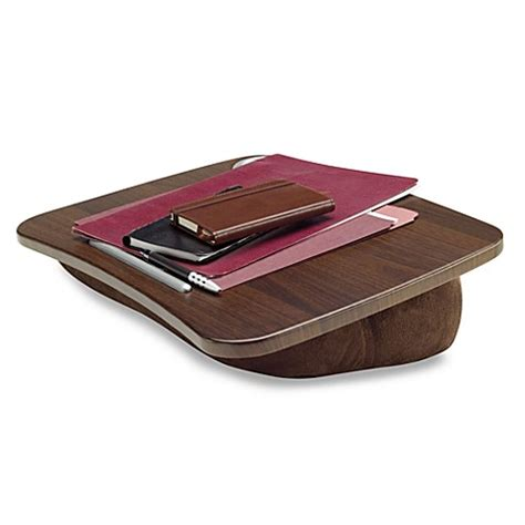 where to buy a lap desk buy brookstone e pad portable laptop desk in chocolate