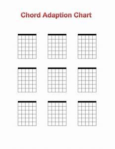 Blank Ukulele Chord Chart