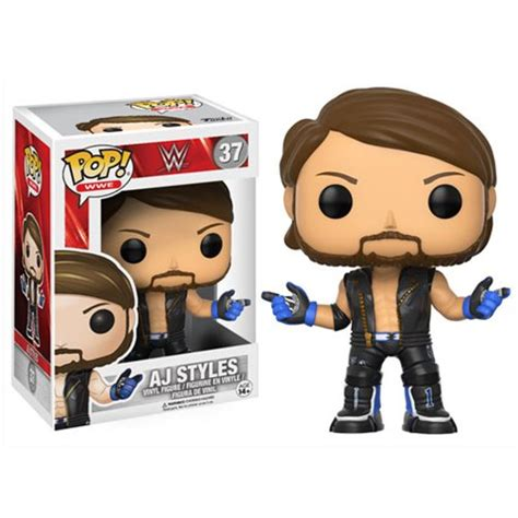 Wwe Aj Styles Pop! Vinyl Figure  Funko Sports