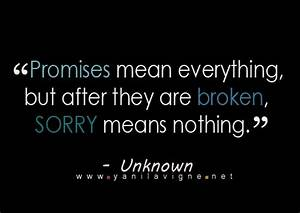 Broken Promises Quotes. QuotesGram