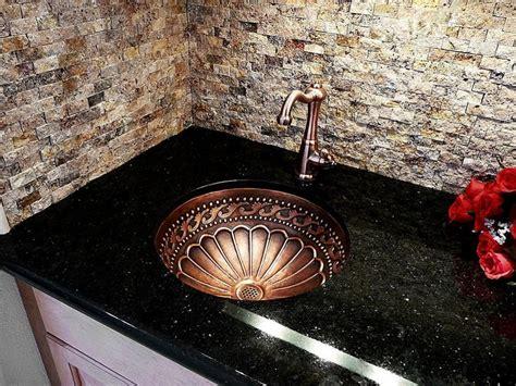 furniture granite countertop with sink combination