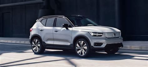 volvo xc recharge packs  kw punch