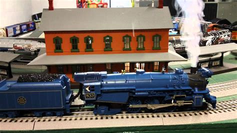 mth trains cnj blue comet youtube