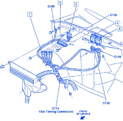 Chevy Silverado Front Engine Electrical Circuit