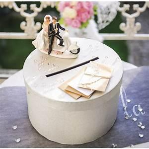 Boite Ronde Blanche : decoration urne de mariage ronde ~ Teatrodelosmanantiales.com Idées de Décoration