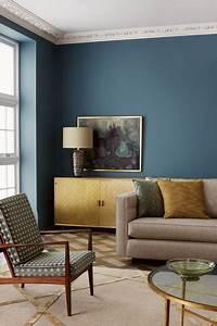 peinture salon 30 couleurs tendance pour repeindre votre With couleur tendance deco salon 6 deco bureau moderne