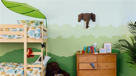 kinderkamer ideeen hoe een jungle kamer schilderen