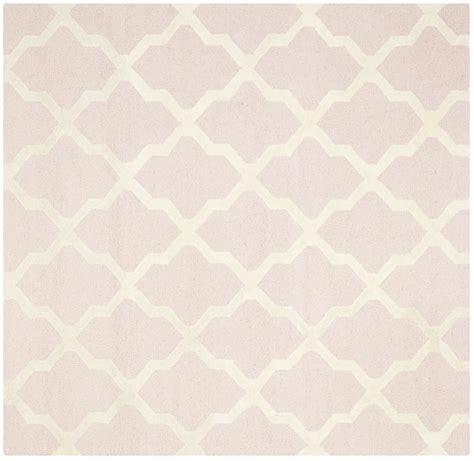 light pink rug safavieh cambridge light pink ivory wool contemporary