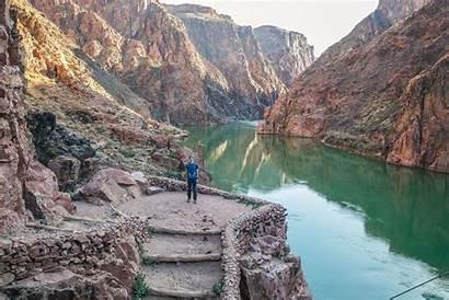 Canyon Grand Rim South Colorado River Trail