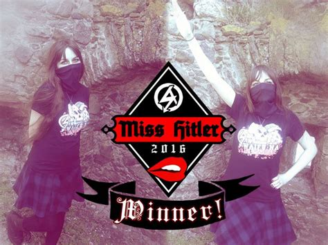 Scottish woman named 'Miss Hitler 2016' in neo-Nazi beauty ...