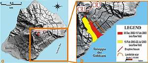 Map Of Stromboli  Showing A The Flank Effected By The 2002