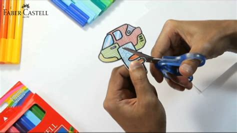 Coloring With Spidol by Faber Castell Connector Pen Craft Helicopter