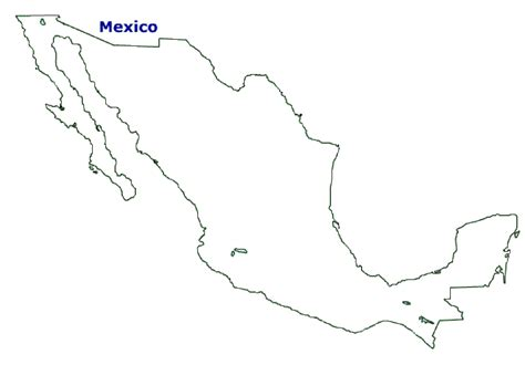 christmas z map of mexico terrain area and outline maps of mexico