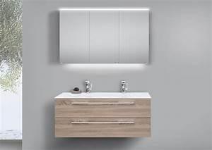 Doppelwaschbecken Mit Unterschrank Und Spiegelschrank : doppelwaschtisch 120 cm badm bel ~ Watch28wear.com Haus und Dekorationen