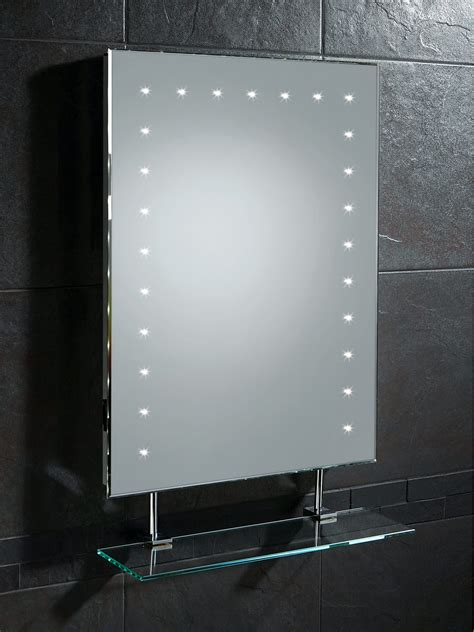 Bathroom Mirror With Shelf And Light by Led Bathroom Mirrors Modern Led Bathroom Mirror With Glass