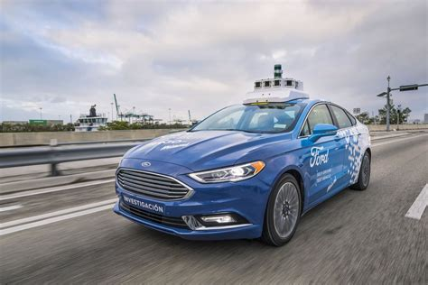 Ford Says Slow And Steady Will Win The Self-driving Car