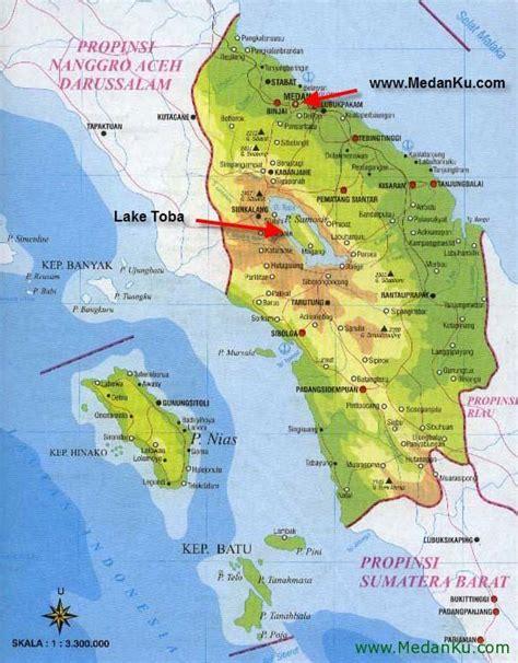 medan map indonesia  medan places