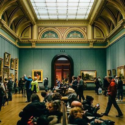Museum Inside Exhibit