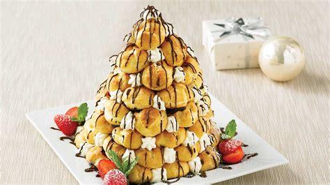 recettes cuisine az sapin de profiteroles recettes iga dessert choux