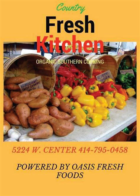 kitchen fresh foods country fresh kitchen makes all organic dishes milwaukee