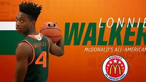 Canes Hoops signee Lonnie Walker named McDonald's All ...