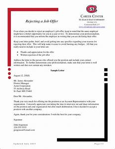 Declining Job Offer Letter Free How To Politely Turn Down A Job Offer 8 Samples