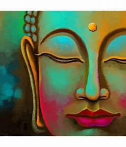Art Factory Buddha Canvas Painting: Buy Art Factory Buddha