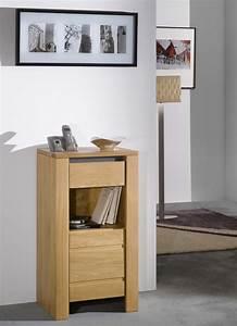 Meuble Chene Clair : meuble t l phone contemporain ch ne clair lucas meubles ~ Edinachiropracticcenter.com Idées de Décoration