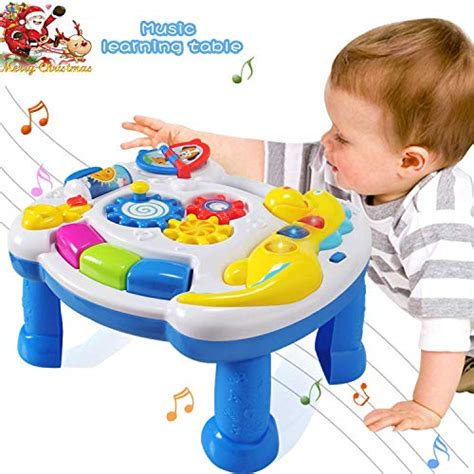 actrinic baby toys musical learning table    months