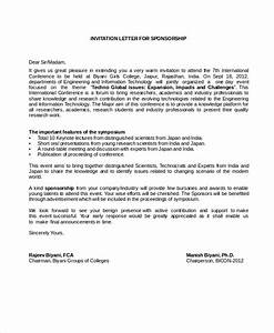 sponsor application template - sponsorship letter example 13 free word pdf psd