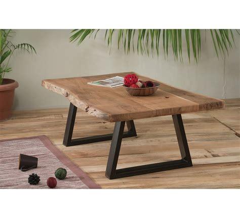table de salon bois et metal id 233 es de d 233 coration int 233 rieure decor